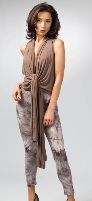 Ellie Mei Women's Multiple Ways To Wear Top. Maxi Top .Wrap Top .KHL-EM157