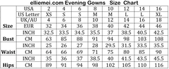 Women's Sequined Prom Dress Deep V Neckline Evening Gowns EM00020