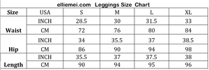 legging size chart activewear size chart