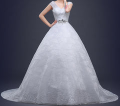 Ellie Mei Wedding Dress. White Princess Dress. EMW100015