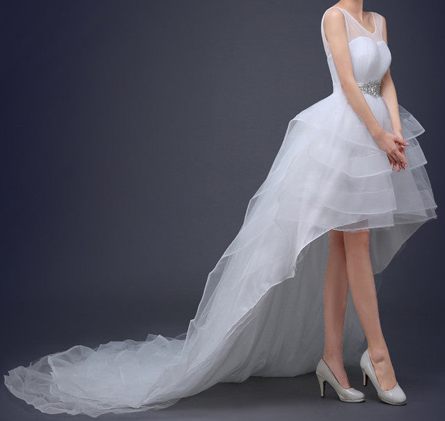 Ellie Mei Women's Red Carpet Dress . Wedding White Dress ITEM NO EMW100016