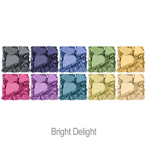 Bright Up Your Life Eye Shadow Palette in Bright Delight Swatches