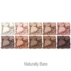 Bright Up Your Life Eye Shadow Palette in Naturally Bare Swatches