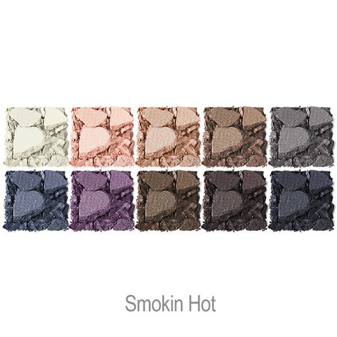 Bright Up Your Life Eye Shadow Palette in Smokin Hot Swatches