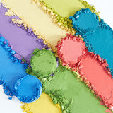 Bright Up Your Life Eye Shadow Palette Texture