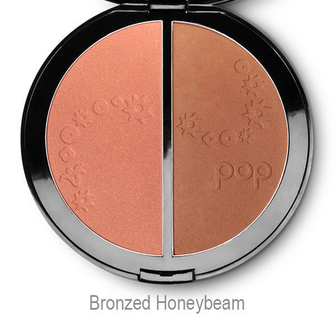 Pop Beauty Double Duty Bronzer - Bronzed Honeybeam