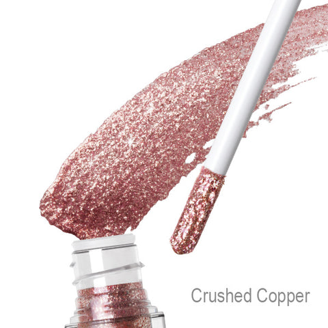 Flashadow Liquid Eye Shadow in Crushed Copper