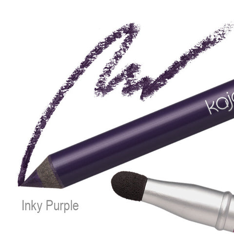 Pop Beauty Kajal Pen - Inky Purple Swatch