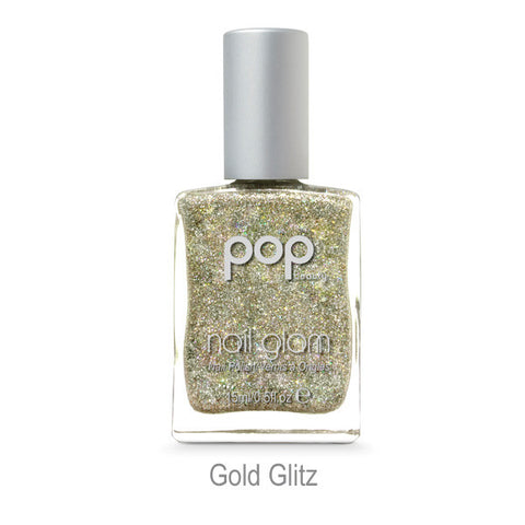 POP Nail Glam - Gold Glitz