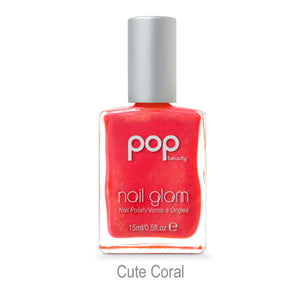 POP Nail Glam - Cute Coral