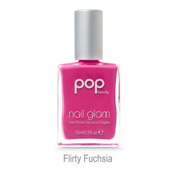 Nail Glam in Flirty Fuchsia