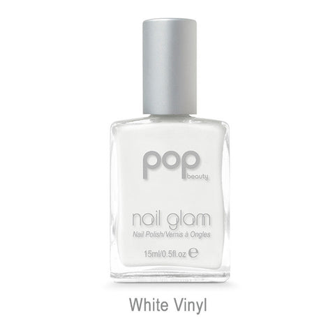 POP Nail Glam - White Vinyl