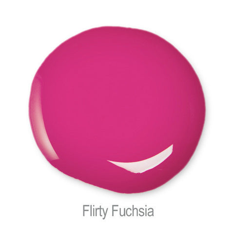 Nail Glam in Flirty Fuchsia  Swatch