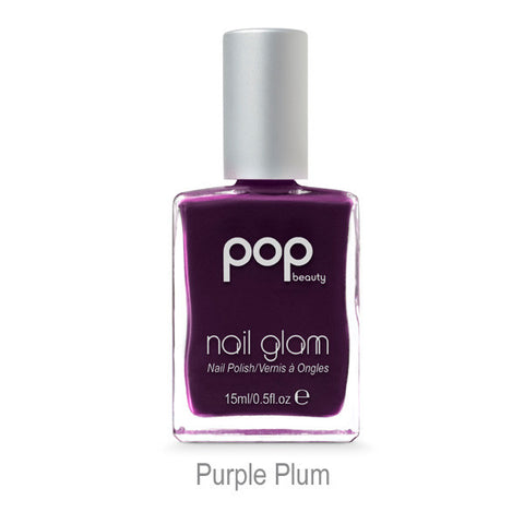 Nail Glam in Purple Plum