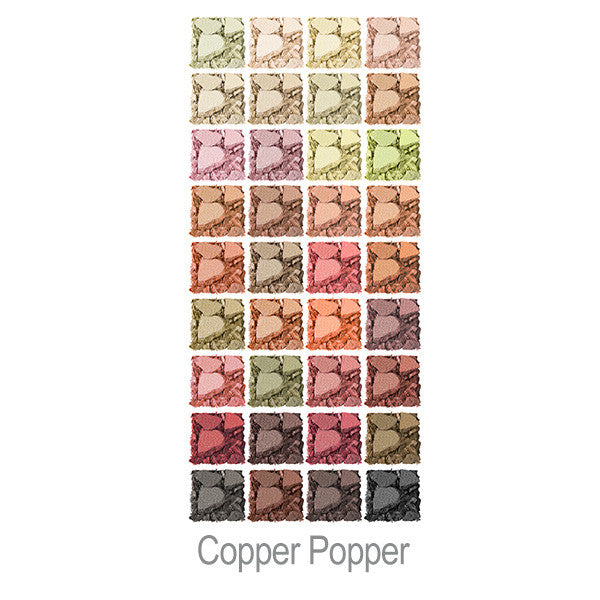Pop Portfolio Copper Popper Swatches
