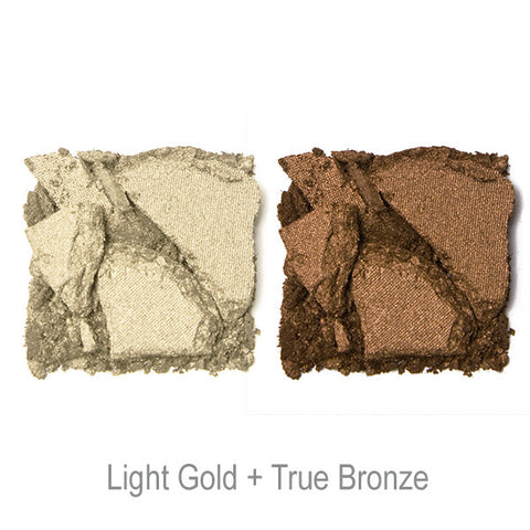 POP Shade Duette - Light Gold + True Bronze