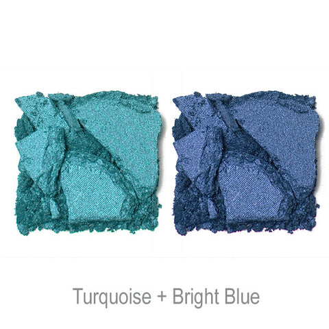 POP Shade Duette - Turquoise + Bright Blue