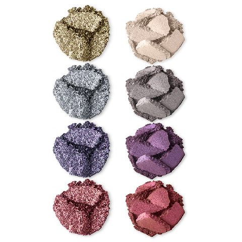 Twinkle Texture Eye Shadow Palette Swatches