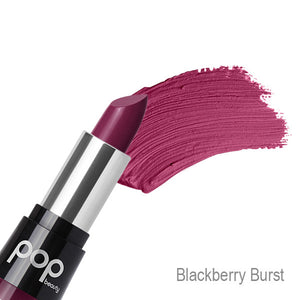 POP Matte Velvet Lipstix - Blackberry Burst