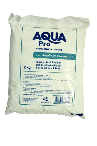 Aqua Pro Alkalinity Booster 2kg The Pool Team