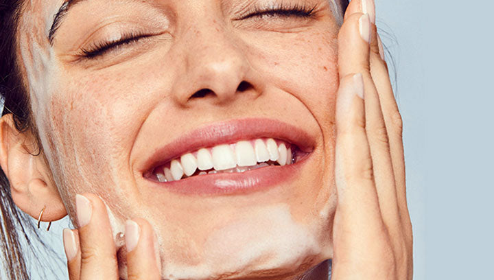 Apply a Face Cleanser