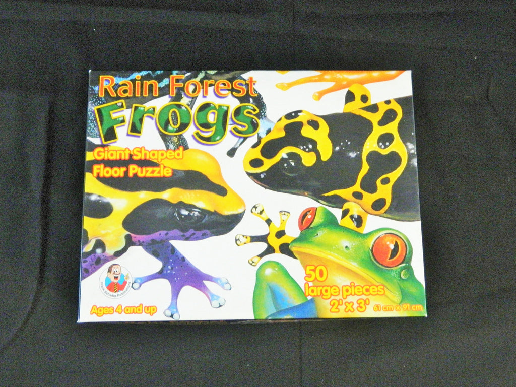 Rain Forest Frogs Giant Floor Puzzle