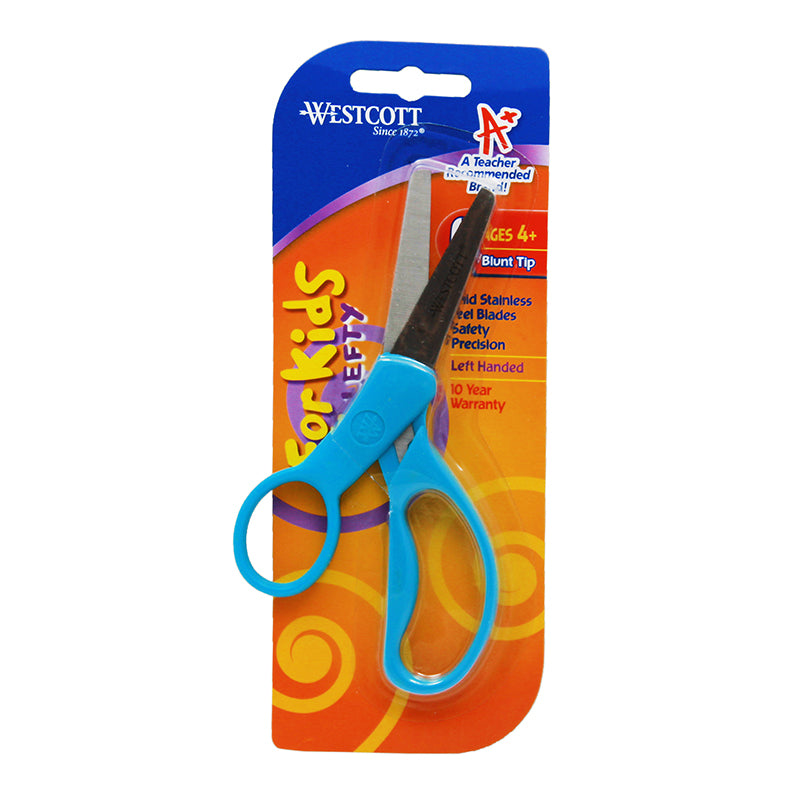 KUMFY GRIP SCISSORS 5IN LEFTY BLUNT