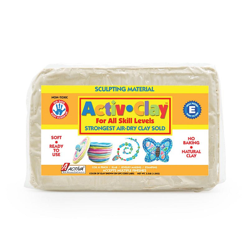 ACTIV CLAY WHITE 3.3 LBS