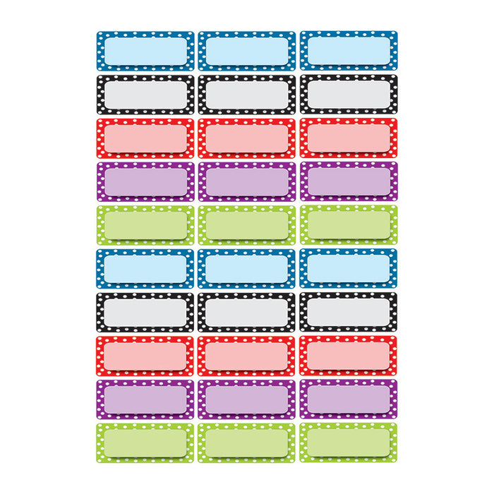 DIE CUT MAGNETS ASSORTED COLOR DOTS