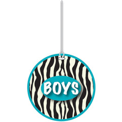 ZEBRA BOYS HALL PASS
