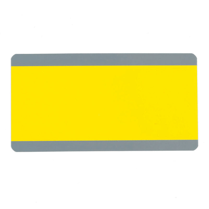 BIG READING GUIDE STRIPS YELLOW