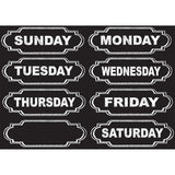 DIE-CUT MAGNETS CHALKBOARD DAYS OF