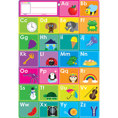 SMART ABCS FILL IN WORD CHART 13X19