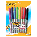 BIC MARK IT PERMANENT MARKERS 8 CT