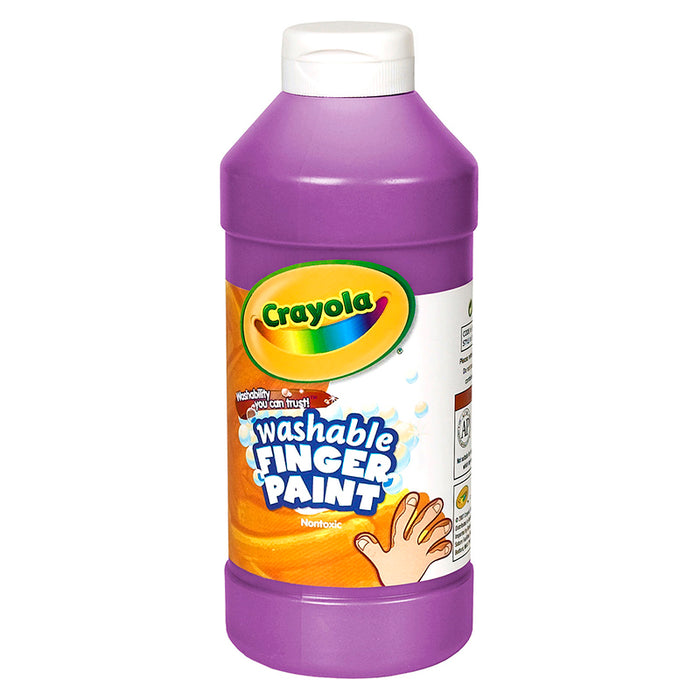 WASHABLE FINGERPAINT 16OZ VIOLET