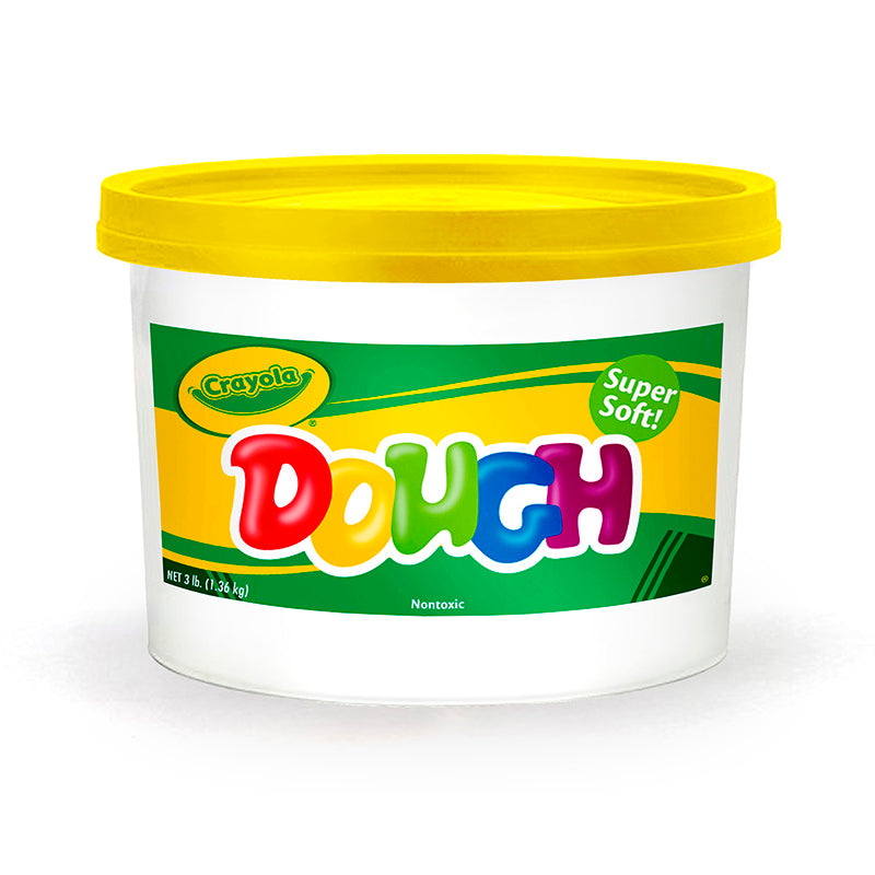 MODELING DOUGH 3LB BUCKET YELLOW