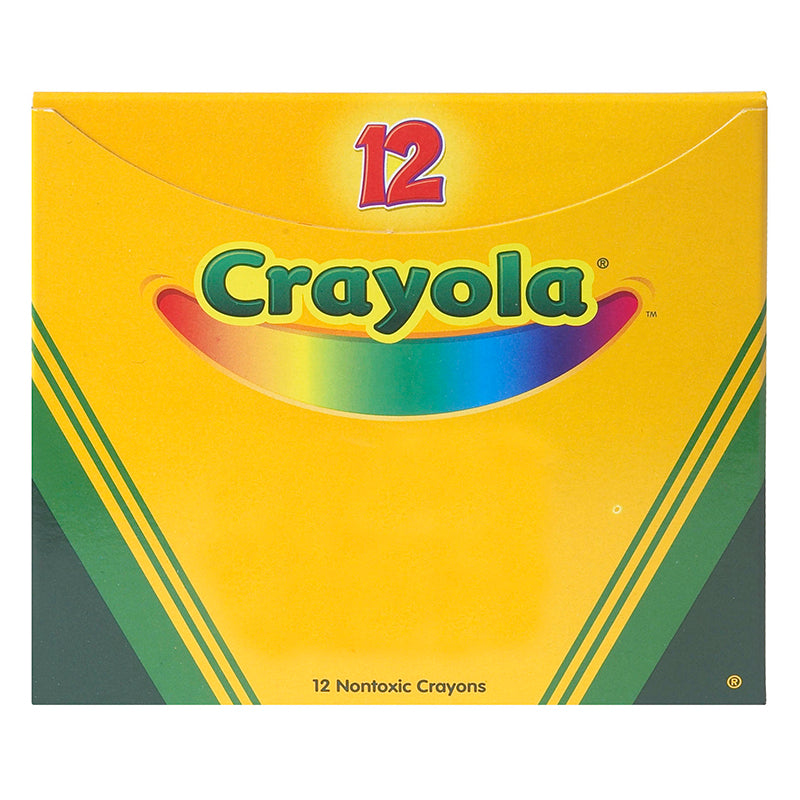 CRAYOLA BULK CRAYONS 12 CT ORANGE