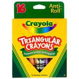 CRAYOLA TRIANGULAR CRAYONS 16 COUNT