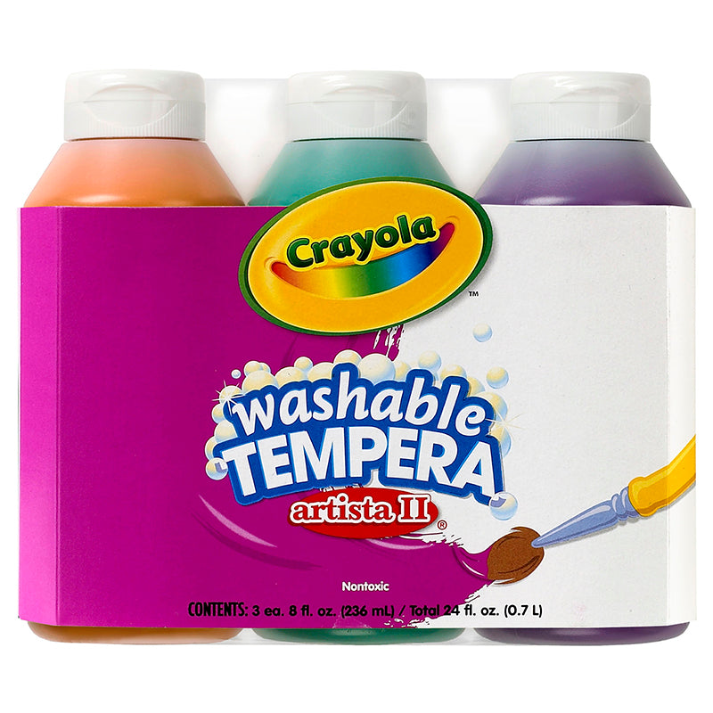 ARTISTA II TEMPERA 3-8OZ SECONDARY