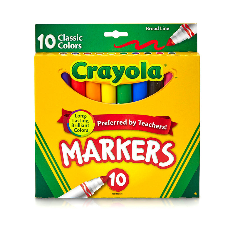 CRAYOLA TAKLON WATERCOLOR 10CT