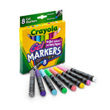 CRAYOLA 8CT GEL FX WASHABLE MARKERS