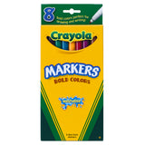 WASHABLE MARKERS 8CT BOLD COLORS