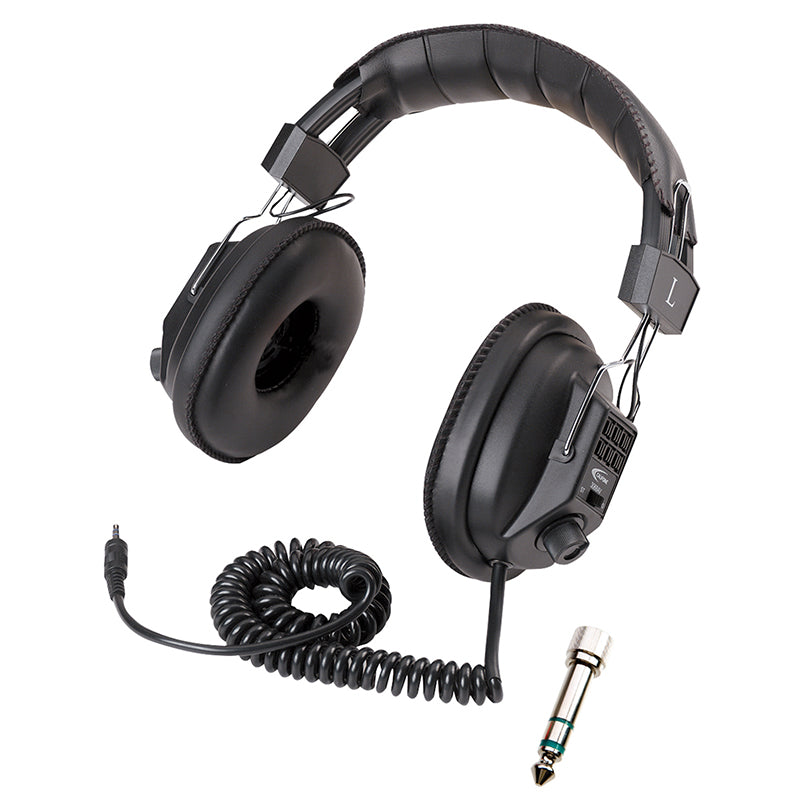 SWITCHABLE STEREO/MONO HEADPHONES