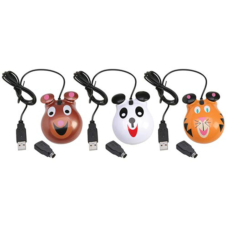 ANIMAL-THEMED COMPUTER MICE BEAR