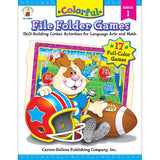 COLORFUL FILE FOLDER GAMES GR 1