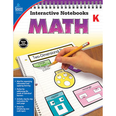 INTERACTIVE NOTEBOOKS MATH GR K