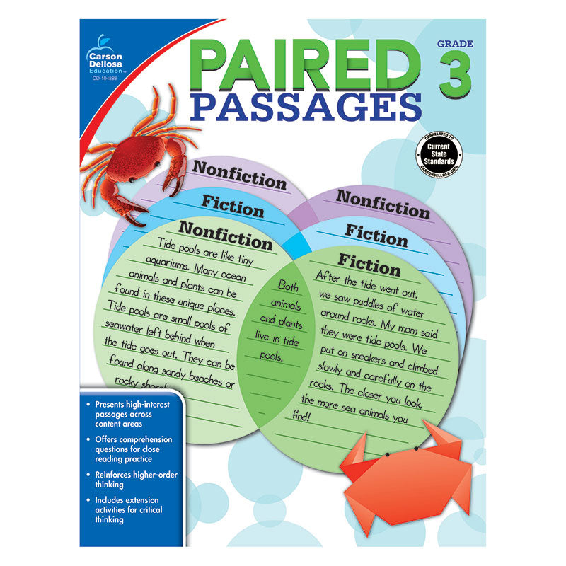 PAIRED PASSAGES GR 3