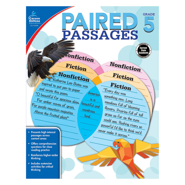 PAIRED PASSAGES GR 5