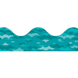 WAVES SCALLOPED BORDER