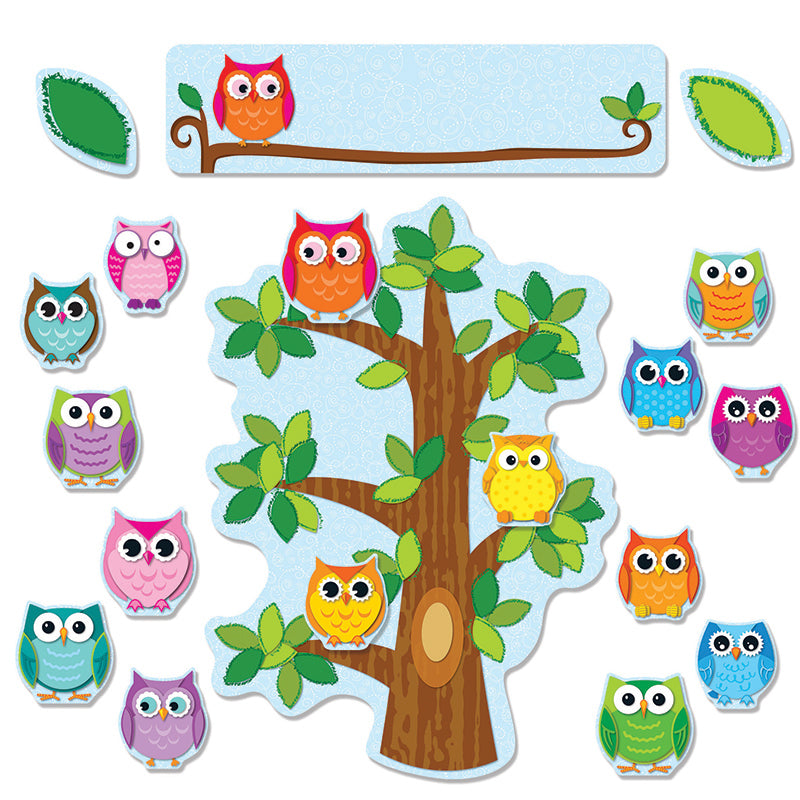 COLORFUL OWLS BEHAVIOR BB SET